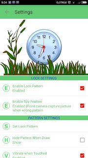 BBM Mod SpyLock Green Theme V3.0.1.25 Apk3