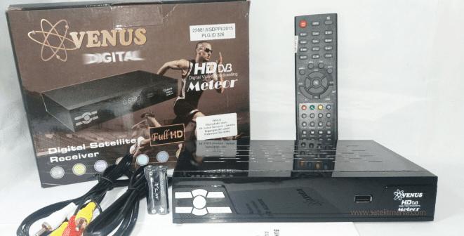Firmware Venus Meteor HD Terbaru 2018