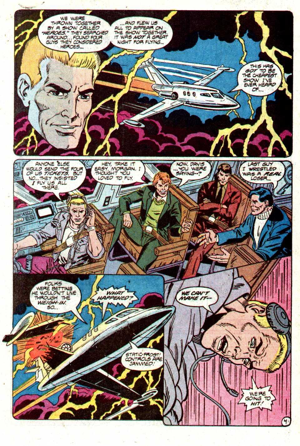 Read online Secret Origins (1986) comic -  Issue #12 - 22