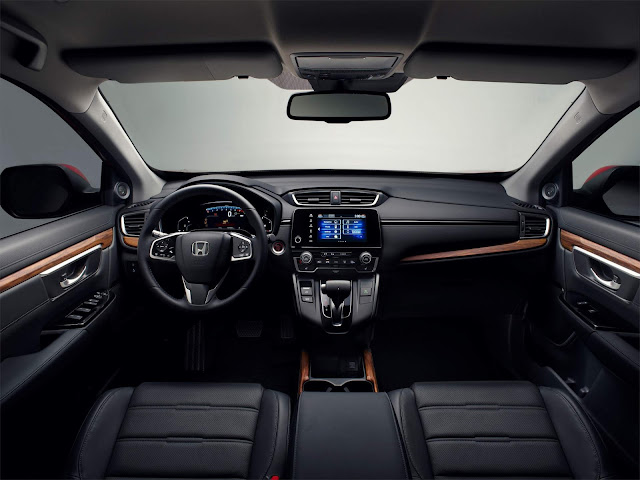 Novo Honda CR-V 2019 - interior