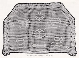 Vintage crochet design, 1910s