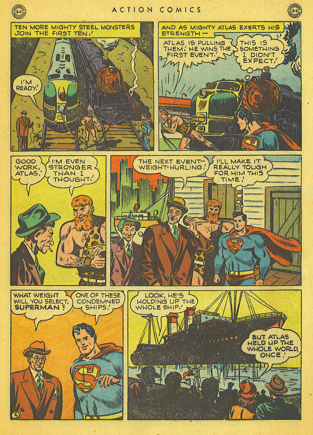 Action Comics (1938) 121 Page 5