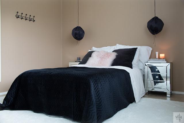 makuuhuone, interior, villa h blogi, sisustus