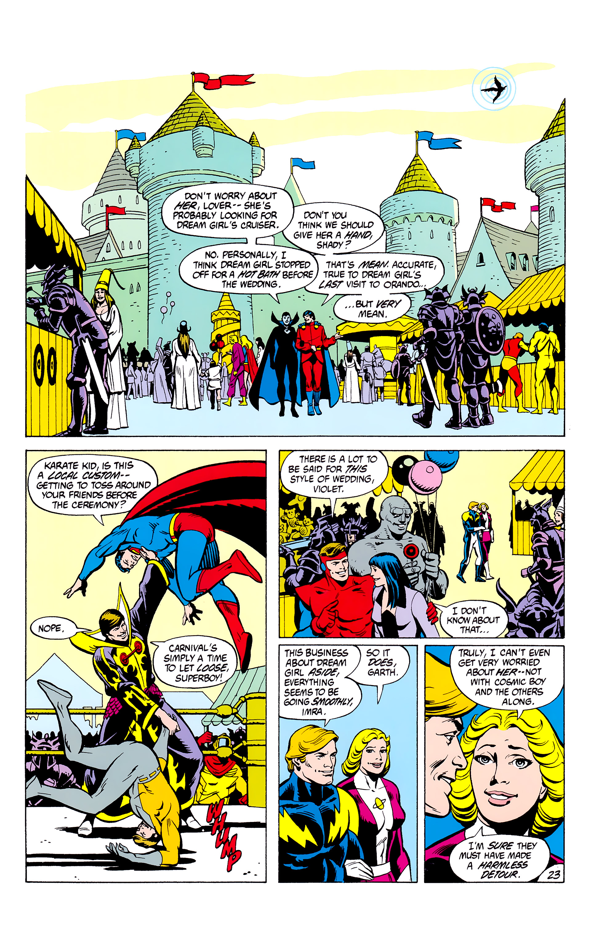 Legion of Super-Heroes (1980) _Annual_2 Page 23