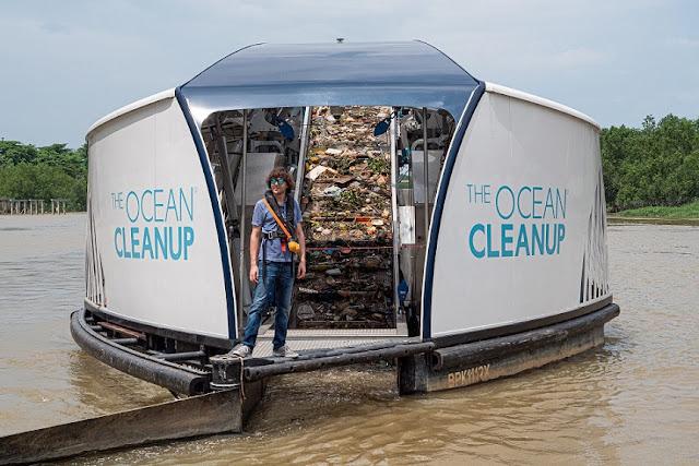 Boyan Slat Pendiri The Ocean Cleanup