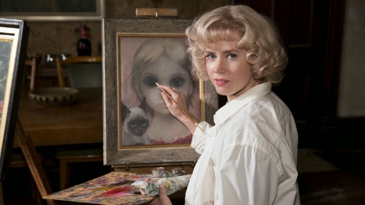 A Vintage Nerd Period Film Recommendation Big Eyes the movie 1960s Films Vintage Blog Margaret Keane