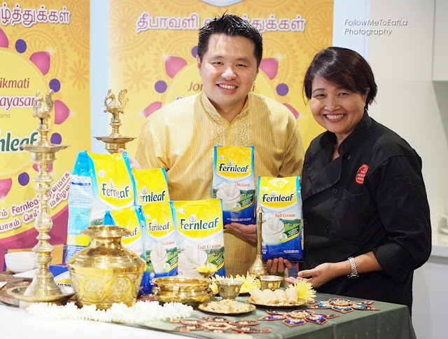 Chef Chef Annette Isaac & Mr Martin Soong, Marketing Manager of Fernleaf at Fonterra Brands Malaysia