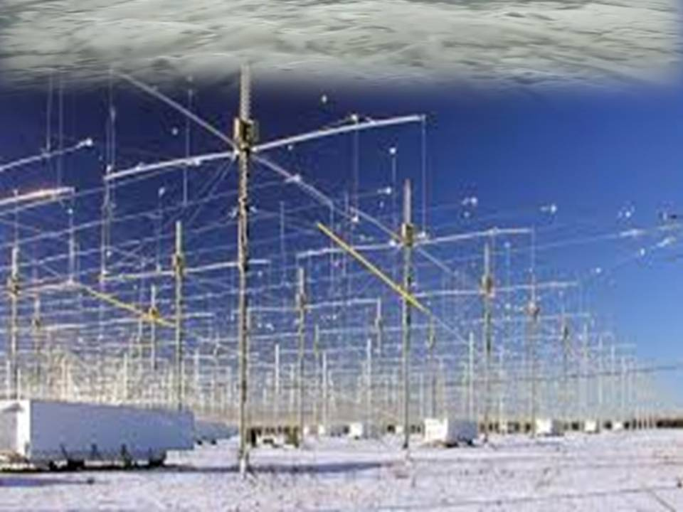 Artificial Plasma Clouds made by HAARP 2013