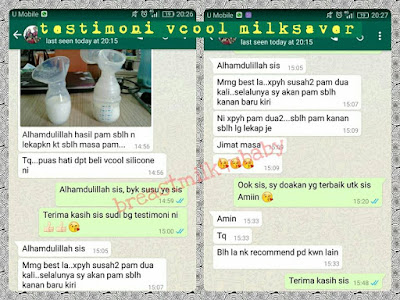 testimoni review vcool original silicone breast milksaver manual pump haakaa rosy tandem vcoool