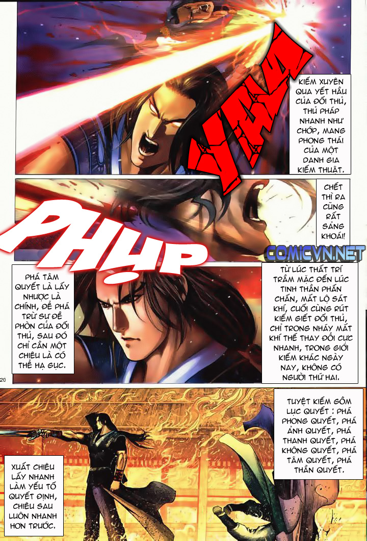 Anh hùng vô lệ Chap 10 trang 17