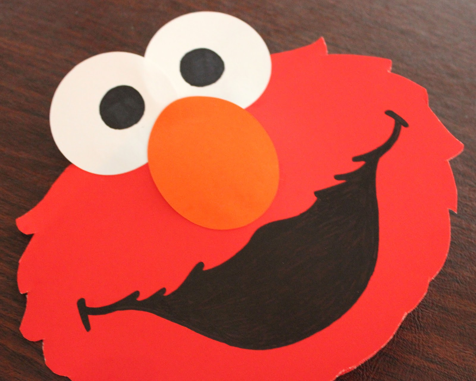 Elmo PopUp Card Repeat Crafter Me