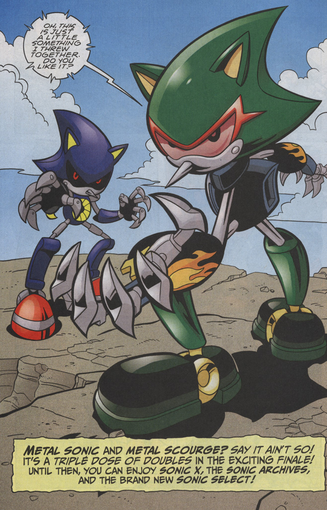 Read online Sonic The Hedgehog comic -  Issue #191 - 19
