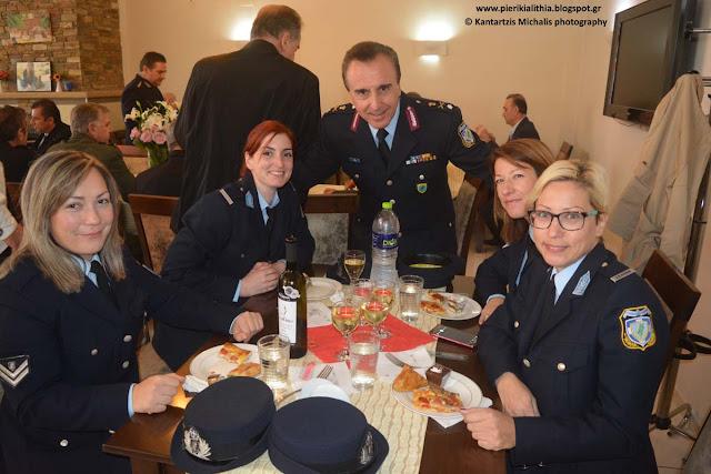 Με κάθε λαμπρότητα γιορτάστηκε στην Κατερίνη ο προστάτης της Ελληνικής Αστυνομίας, Άγιος Αρτέμιος.