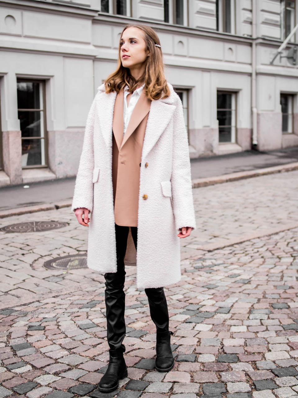 Fashion blogger winter streetstyle - Muotibloggaaja, talvimuoti, Helsinki