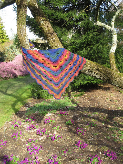Tina's Allsorts, The Virus Shawl