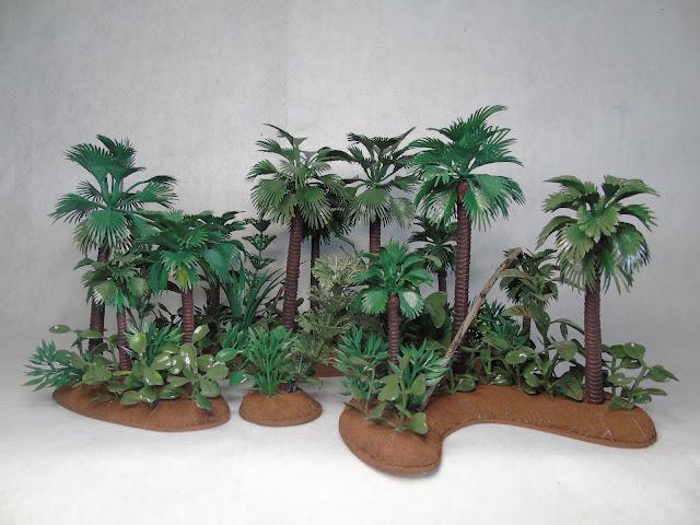 28mm wargaming rainforest scenery board