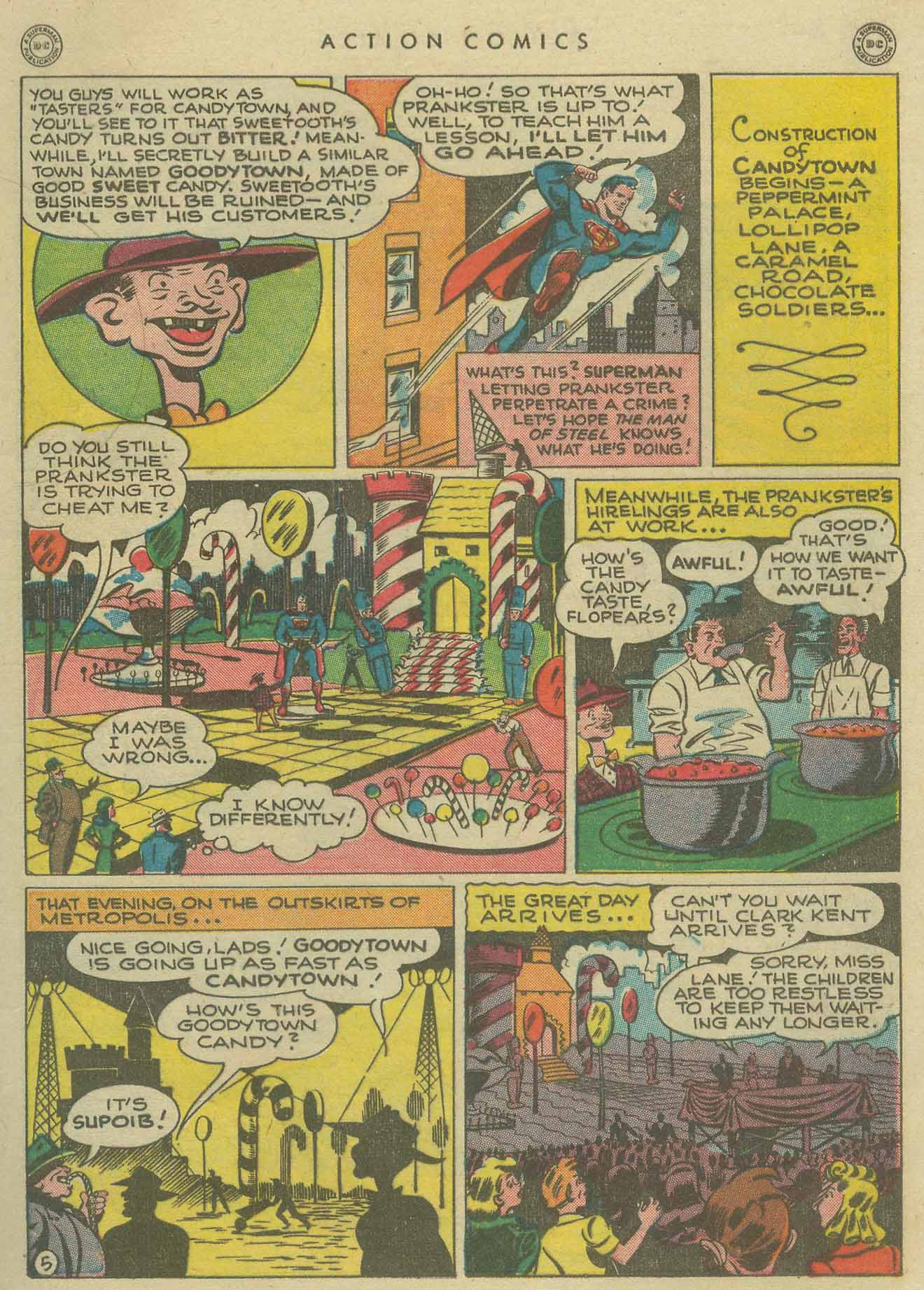 Read online Action Comics (1938) comic -  Issue #104 - 7
