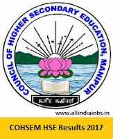Manipur HSE Result 2017