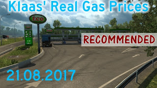 Klaas' Real Gas Prices