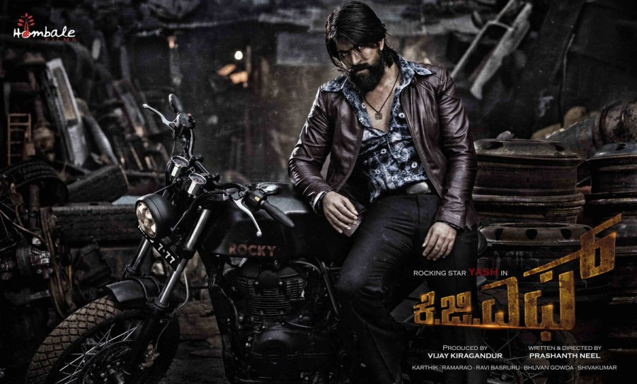 Rocking Star Yash's KGF First Look Poster