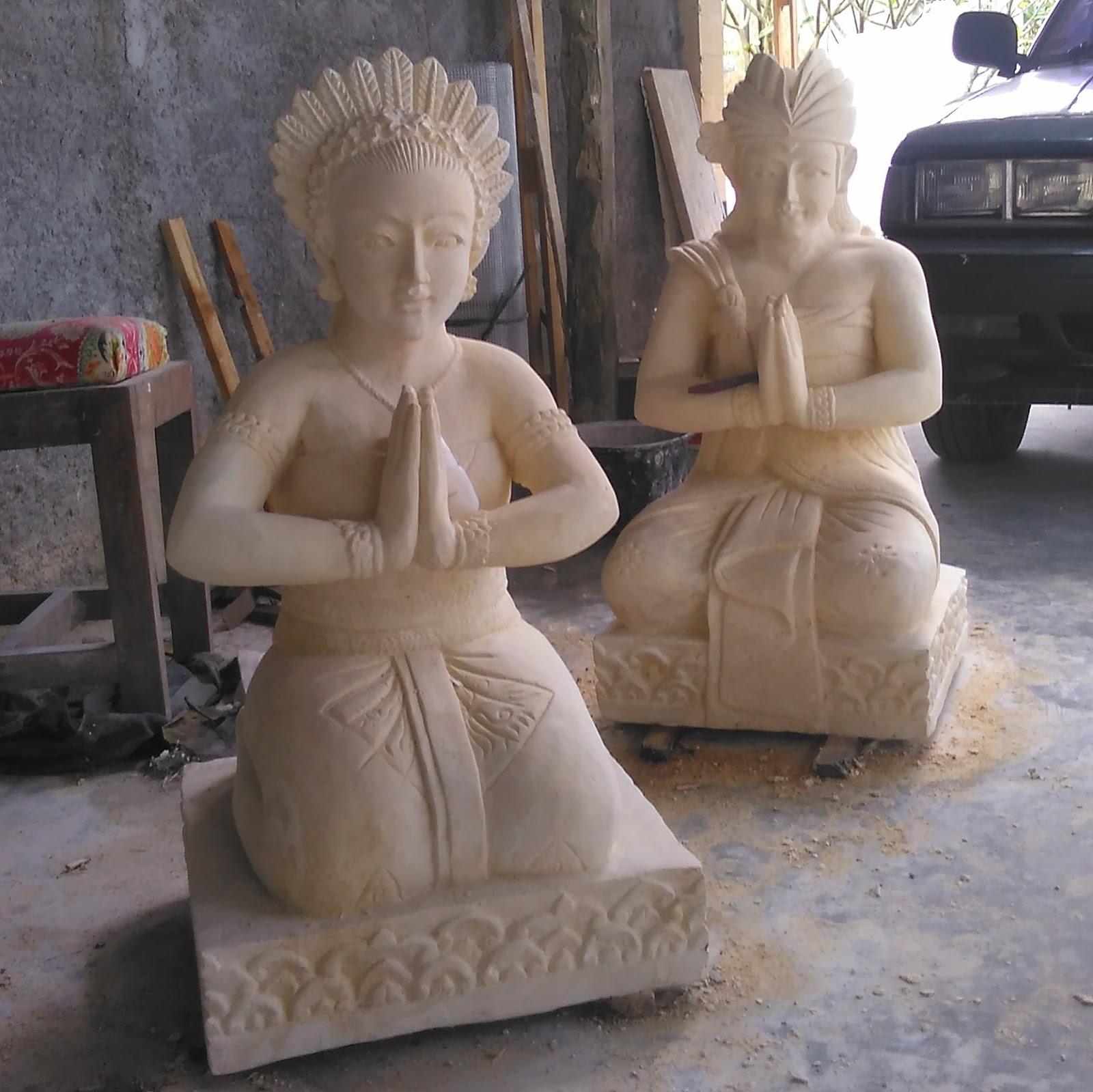 Patung ORANG BALI SEPASANG