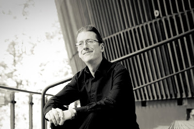 Llŷr Williams at the Royal Welsh College of Music & Drama (Photo Kieran Ridley)