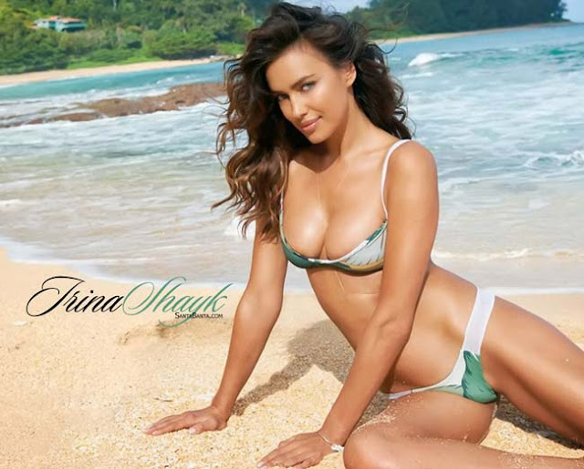 Hot girls Irina Shayk super sexy Bra model 8