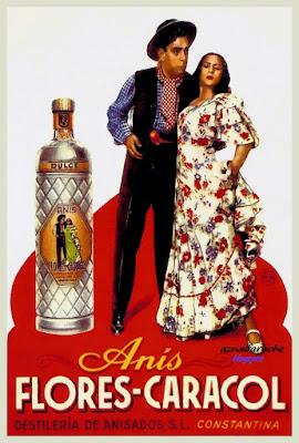 Anís Flores-Caracol - Constantina - Hacia 1954