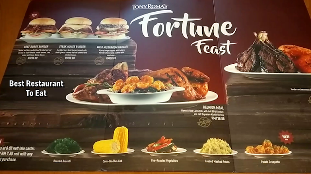 Tony Romas Chinese New Year 2019 Promotion  - Fortune Feast