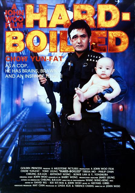 Poster película Hard Boiled