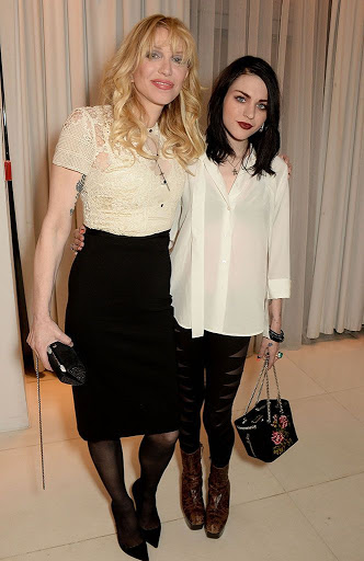 Courtney Love and Frances Bean Cobain Make a Stylish Mother-Daughter Pair in London