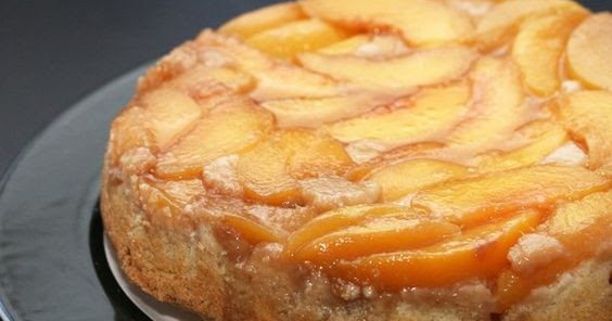 Recipes By Rachel Rappaport Peach Upside Down Cake On