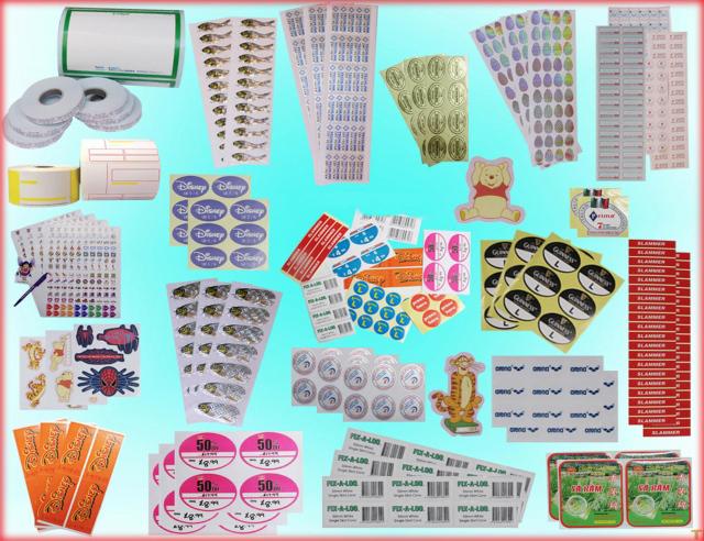 Các mẫu thiết kế tem, nhãn giá rẻ được khách hàng ưa chuộng tại Lạc Hồng.