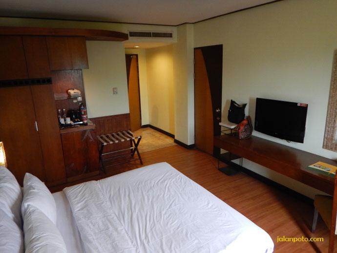 Kamar hotel Banana Inn Bandung