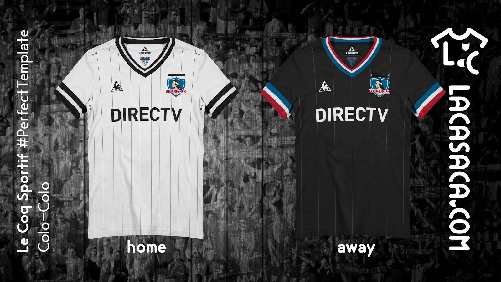 ad26ae8586 Site cria camisas de clubes chilenos inspirados na Le Coq Sportif ...