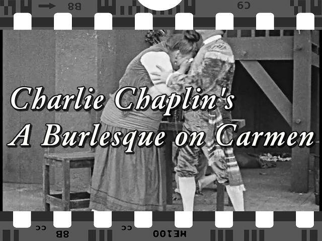 """Charlie Chaplin's """"A Burlesque On Carmen"""" - Film entier VO"""