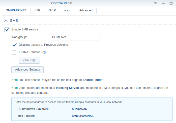 ben mctee   com: Mounting a Synology SMB share on Ubuntu