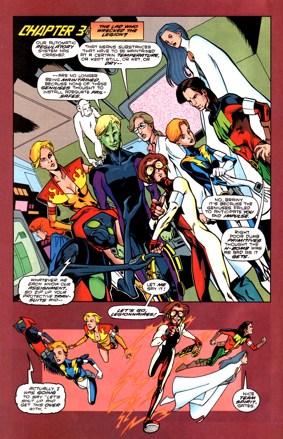 Legion of Super-Heroes (1989) 88 Page 17