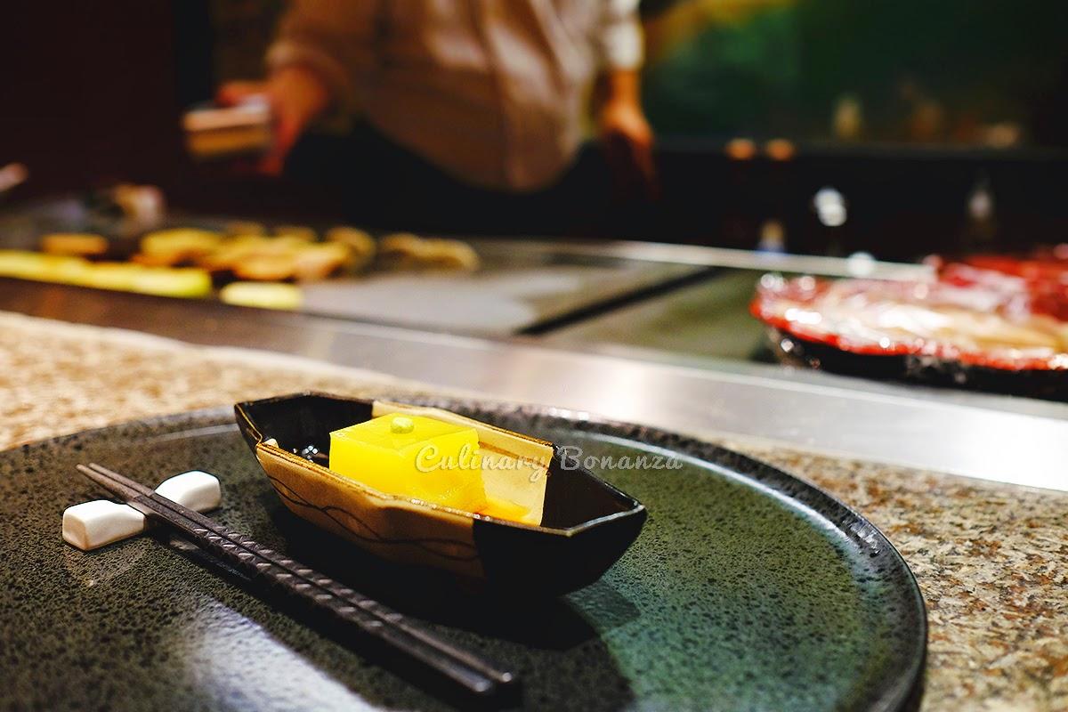 Appetizer - Kabocha Tofu