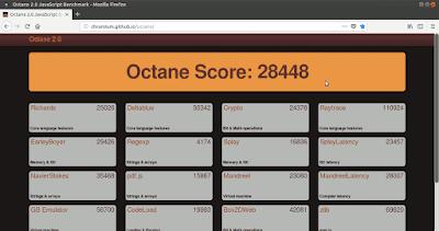 Octane Firefox origen