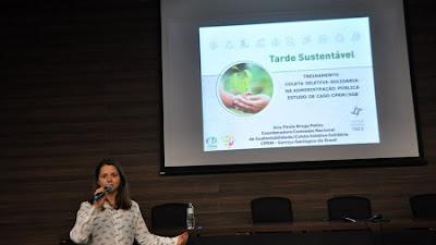 Coleta Seletiva Solidária da CPRM é apresentada em evento do Tribunal Federal do Rio de Janeiro