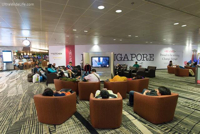 changi airport movie corner