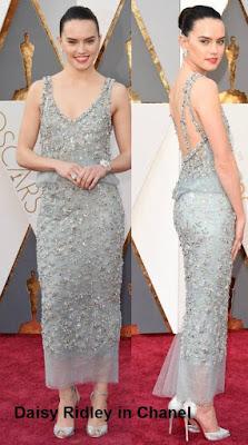 Daisy%2BRidley%2Bin%2BChanel - Look Óscares 2016