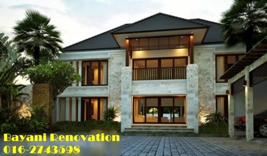 Design Idea Rumah Banglo Mewah Bayani Home Renovation