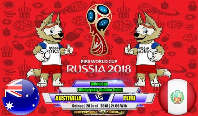 Prediksi Australia vs Peru 26 Juni 2018
