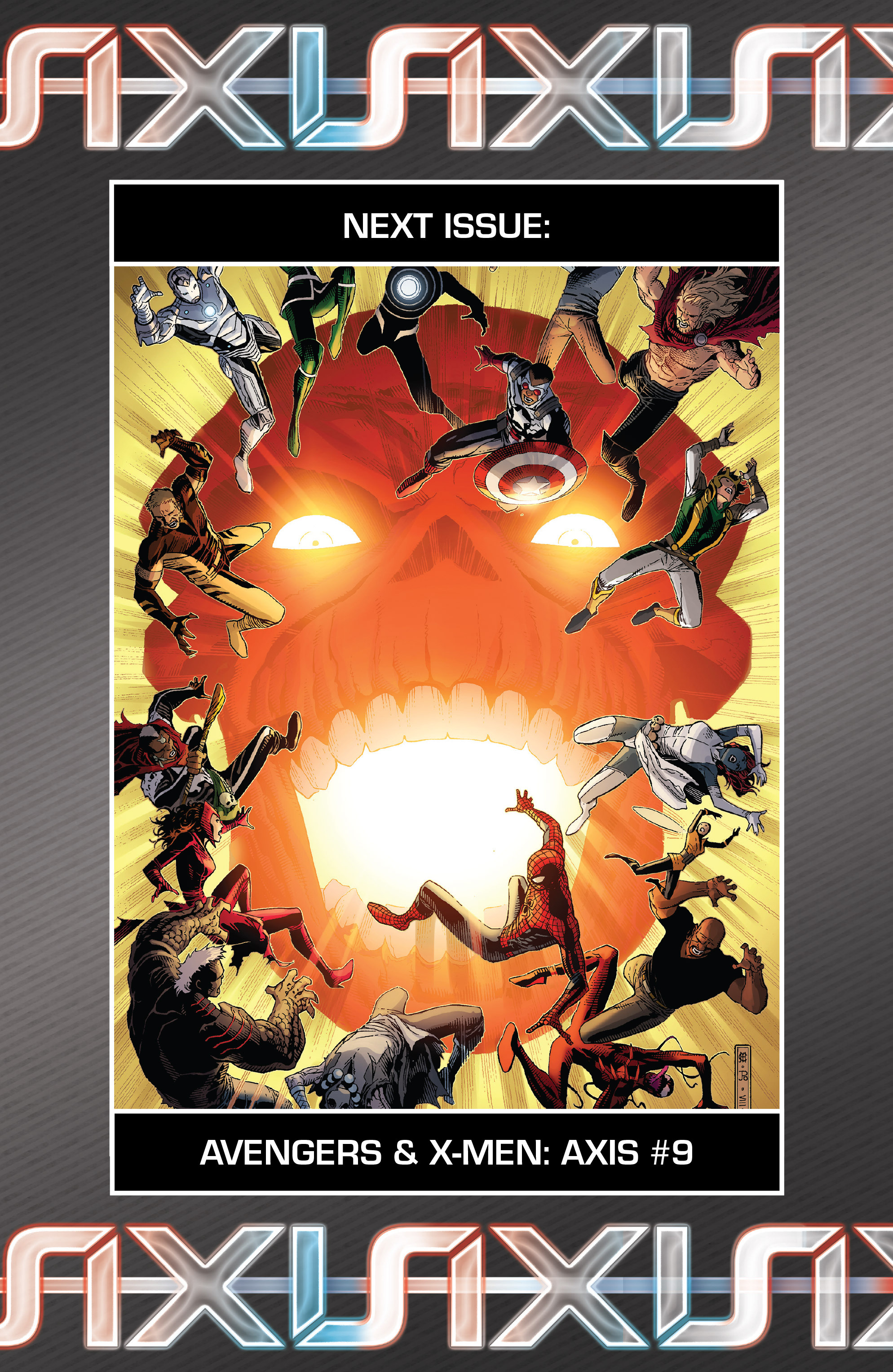 Read online Avengers & X-Men: AXIS comic -  Issue #8 - 28