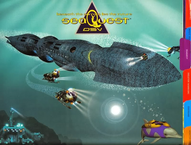 Seaquest DSV Action Figure Playmates