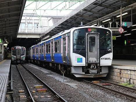 仙石東北ライン HB-E210系3 特別快速 石巻行き