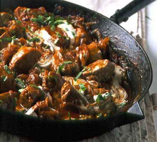 #Recipe : paprika pork in a pot