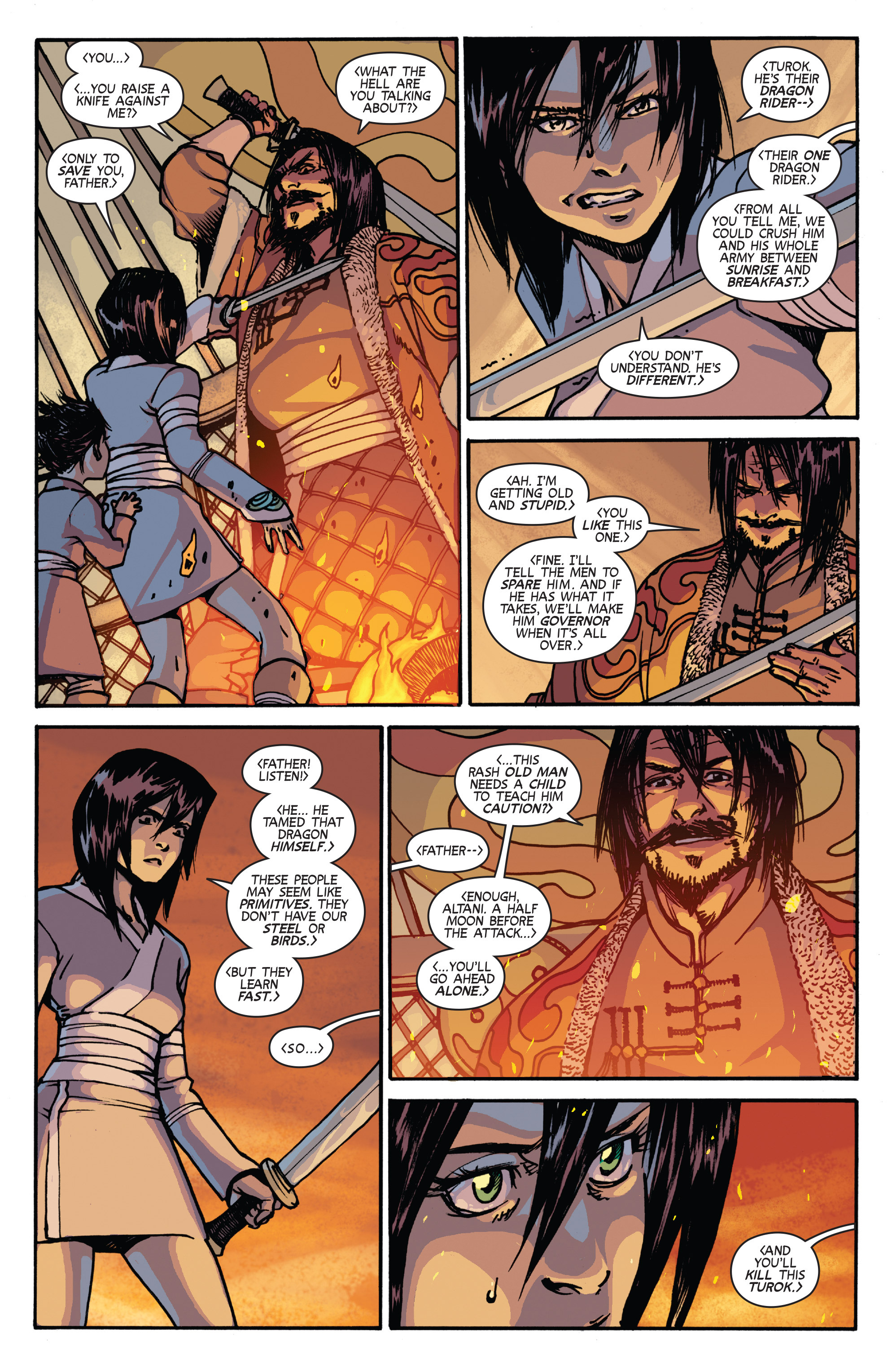 Read online Turok: Dinosaur Hunter (2014) comic -  Issue # _TPB 2 - 56